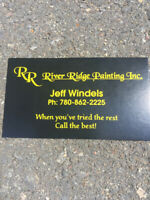 River Ridge Painting at Affordable Prices.  780 862-2225