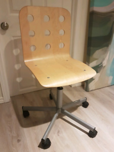 IKEA Birch Veneer Swivel Chair