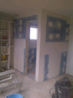 Drywall, Taping, paint and more