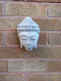 Stone buddha head orniment