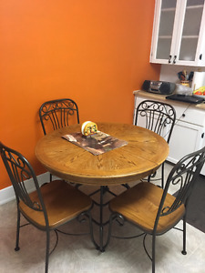 Moving Sale - Kitchen Set, Mirror, Pole Lamp