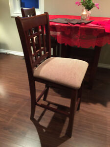 Kitchen table and 3 chairs.