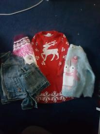 Christmas clothes bundle age 2-3