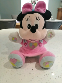 Minnie Mouse singing toy