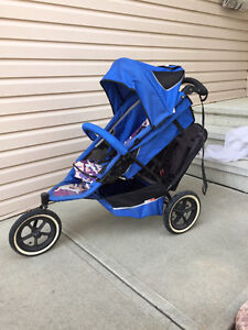 Phil and Ted's double stroller