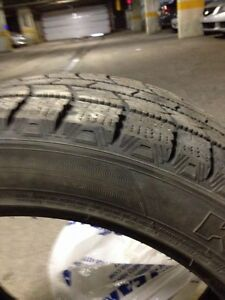 Two winter tire in a  very good condition  West Island Greater Montréal image 5