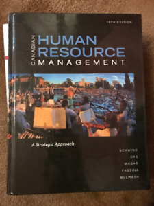 Canadian Human Resource Management 10th Edition