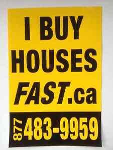 I  BUY  HOUSES  FAST  .ca + inc.