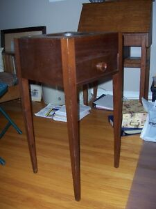 Antique primative wash stand