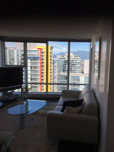 FULLY FURNISHED 1 BEDROOM APARTMENT IN DOWNTOWN VANCOUVER