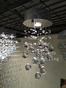 Cheap special sale crystal single pendant chandelier light