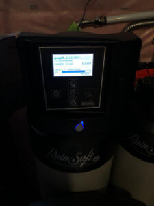 Rain soft water filter system
