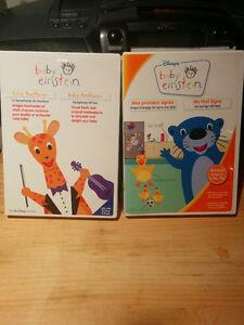 Coffrets de DVD de la série Baby Einstein