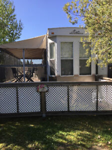Trailer for sale- Leased Lot at Mariners Cove, Candle Lake