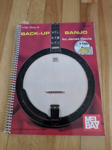 Back-Up Banjo book great condition