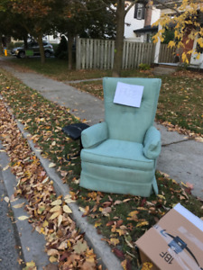 Chair free - curbside pick up