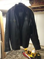 Manteau cuir homme XXL Akoury leather jacket for men
