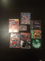 N64 WII PS1 PS2 PS3 games