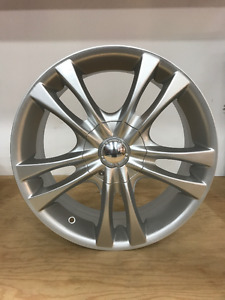 4 mags Sacchi 17x7 5x112/120 Argent