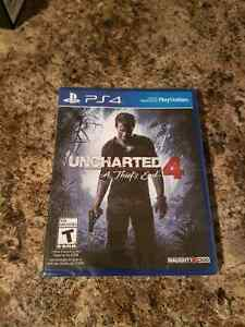 Brand new sealed Uncharted 4 A Thiefs End for PS4