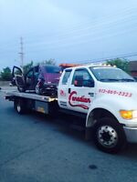 Ottawa towing cheap and fast   Flat bed and boom trucks