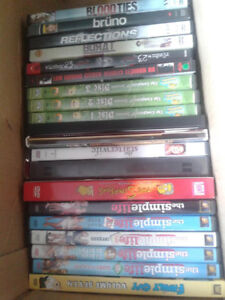 DVDs CDs only a 1.00 each huge selection to choose from
