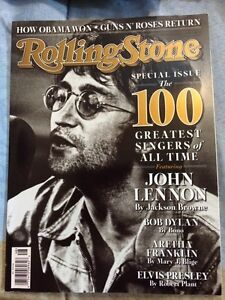 Magazine Rolling Stone-100 greatest singers of all time