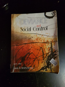 Deviance and Social Control (4th Edition)