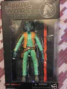 Star Wars The black series 6 inch #7 Greedo