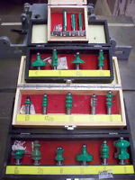 """Router Bits 1/2"""" Shank"""