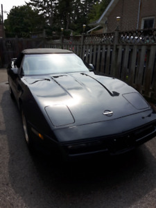 1989 Corvette covertible
