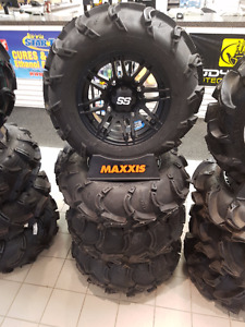 ITP MUD LITE XL TIRES ON SS316 14 INCH RIMS THIS WEEK SALE