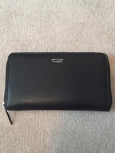 Black Matt & Nat Wallet