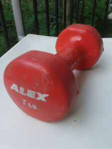 Selling a 7 lb dumbbell for $5