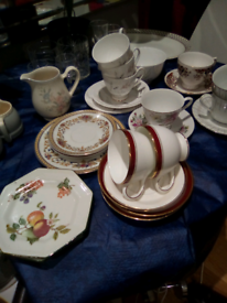Assorted vintage china