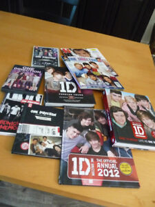For sale..Various 1 D hard cover/soft cover books/magazines