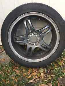4 GOODRIDE summer tires with Black Rims West Island Greater Montréal image 1