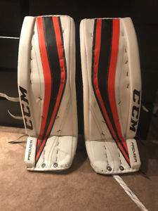 35+2 PRO RETURN GOALIE PADS ALEX LYON