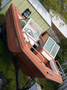 18 foot 1980 lund with 150 merc