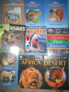 Books about animals and Science Books for Children