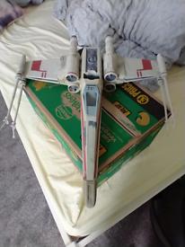 Star Wars X-Wing Starfighter vehicle. Kenner.