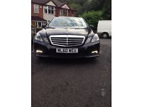 MERCEDES BENZ E220 CDI AMG 2010 FULLYLOEDED HPI CLEAR GENUINE LOW MILES SHOWROOM CAR 👍🏿