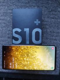 Samsung Galaxy S10+ 128GB Prism Black Unlocked Mobile Phone
