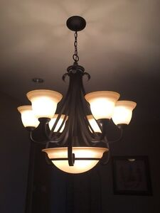 Set of Ceiling Mounted Household Lights