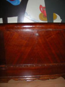 Antique 1930's Cedar Storage Chest for Linens, Records..