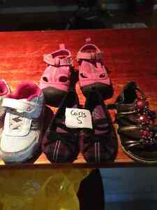 Toddler girl size 5 shoes