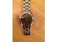 Armani mans watch new was £200 never used