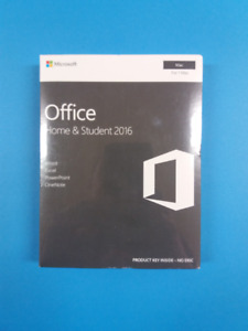 Microsoft Office Home & Student 2016 (Mac) - Brand New