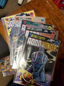 RoboHunter comic series #1-5