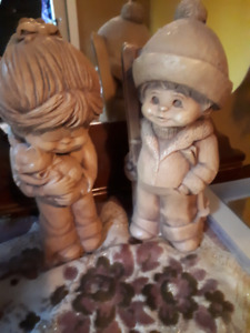 Little Boy & Girl Figurines - in Armstrong